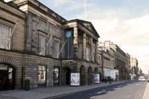 Assembly Rooms New Town George Street Edinburgh World Heritage Site