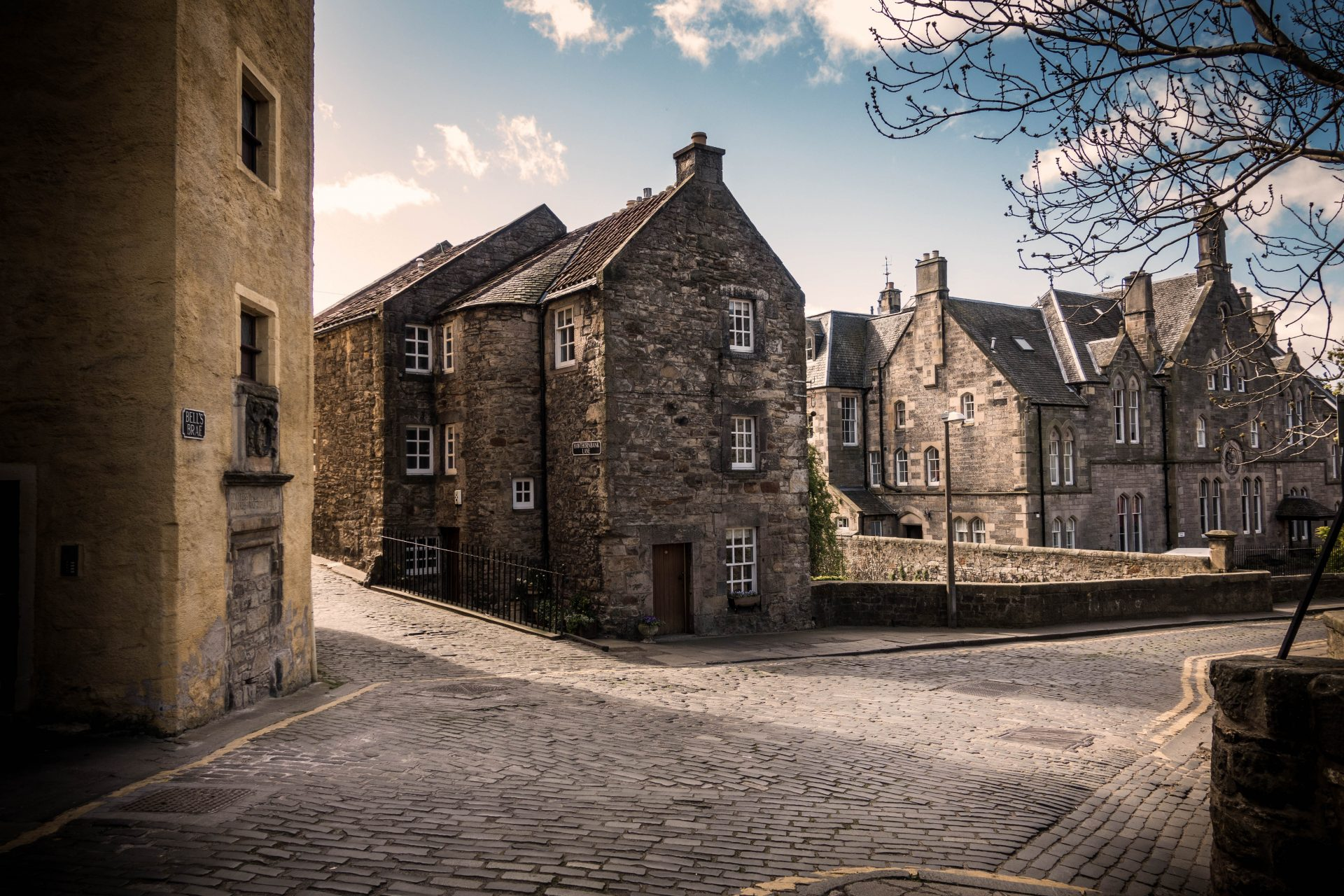 Dean Village Bells Brae Edinburgh