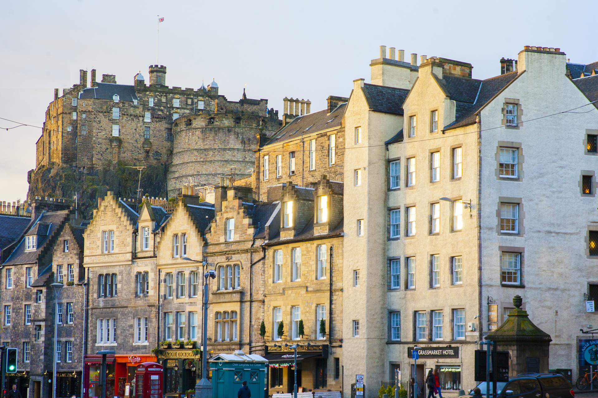 Grassmarket Edinburgh World Heritage Site