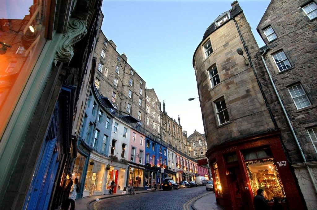 Victoria Street Edinburgh World Heritage Site