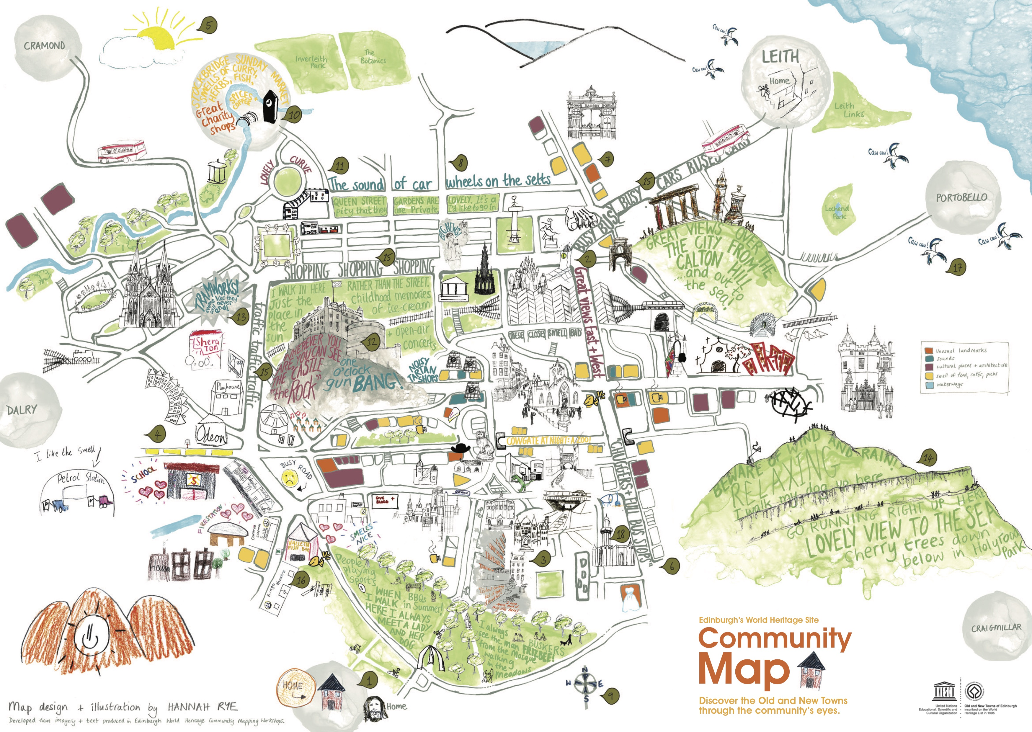 Map Of Edinburgh City Edinburgh Maps