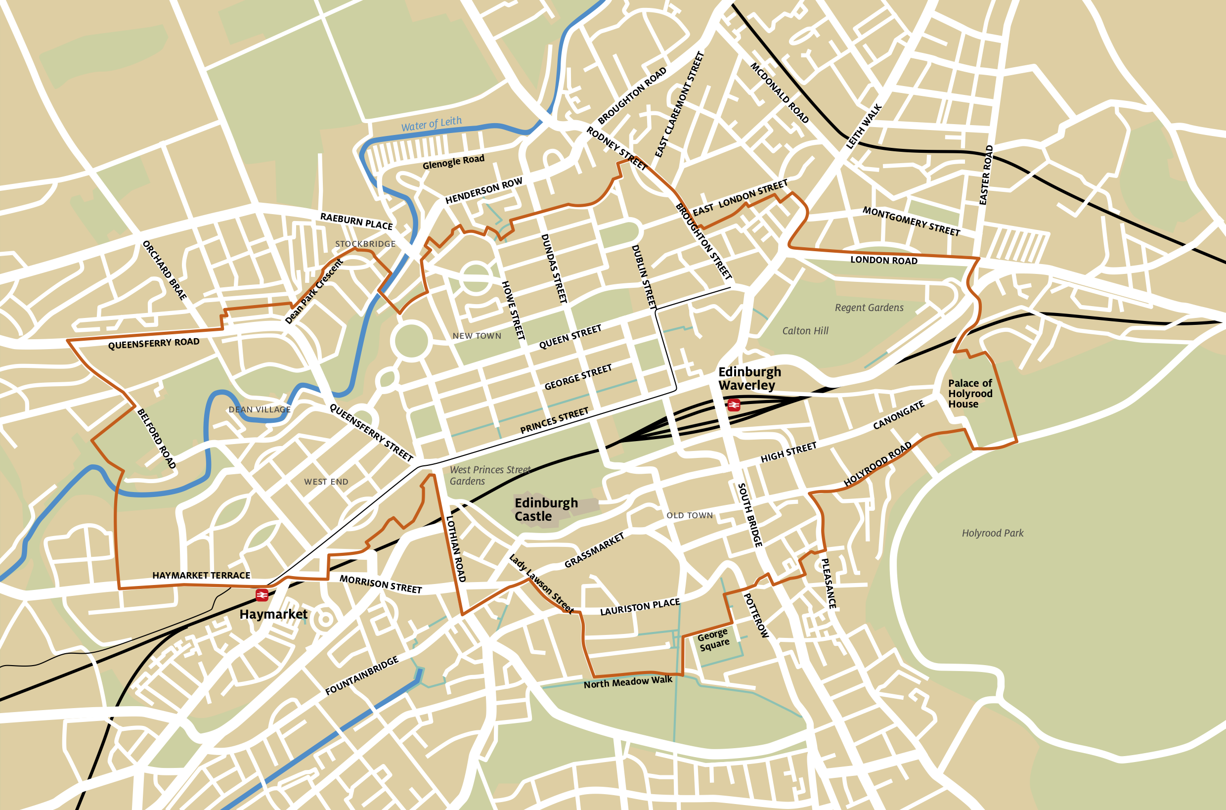 Edinburgh Maps